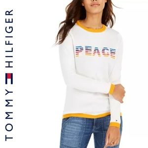 NEW! Tommy Hilfiger PEACE Sweater